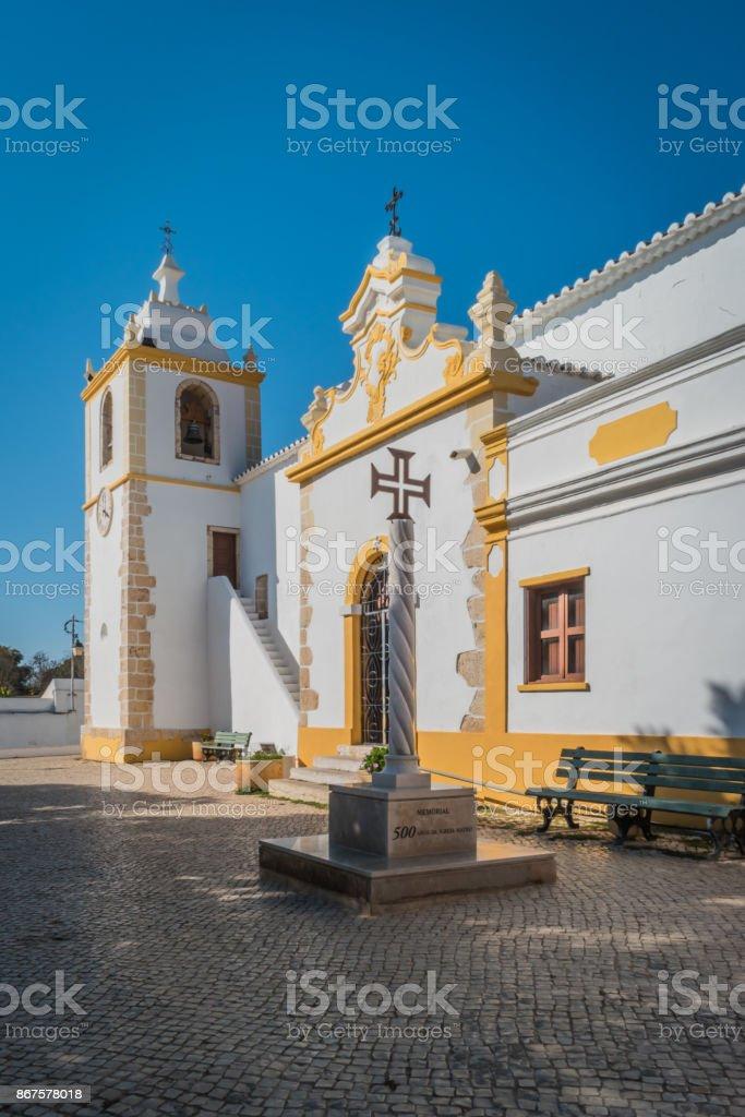 Church of the Divine Savior, Alvor, Portugal. - fotografia de stock