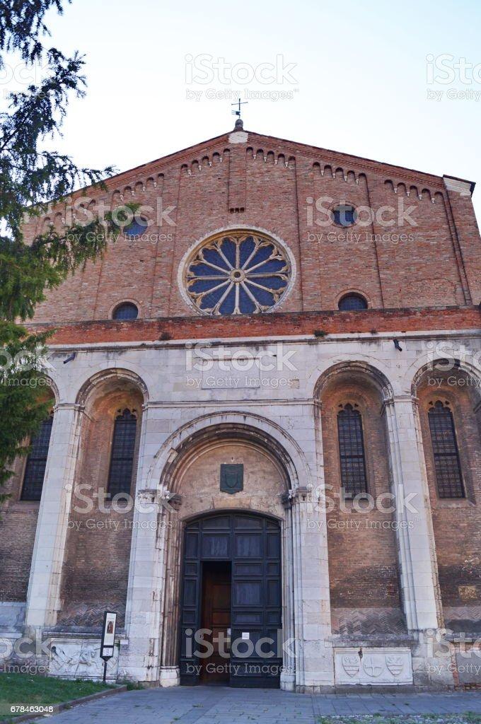 Church of the Erremitani, Padua royalty-free stock photo