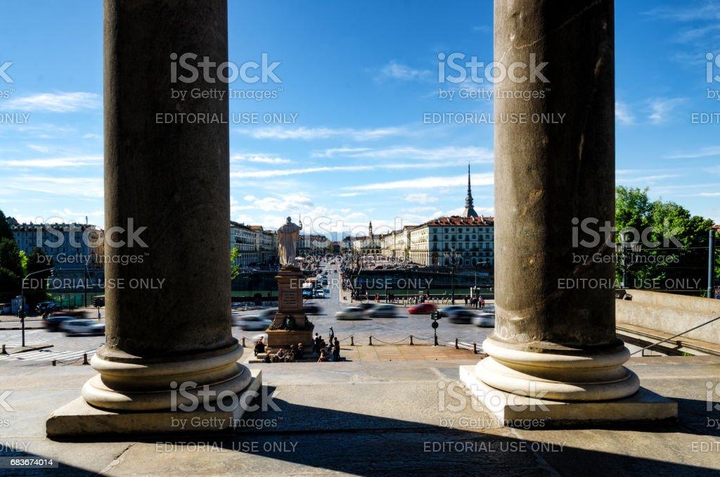Church Of The Gran Madre In Turin - Fotografie stock e altre