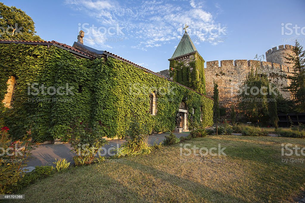 Church of the Holy Mother of God, Ruzica church stock photo