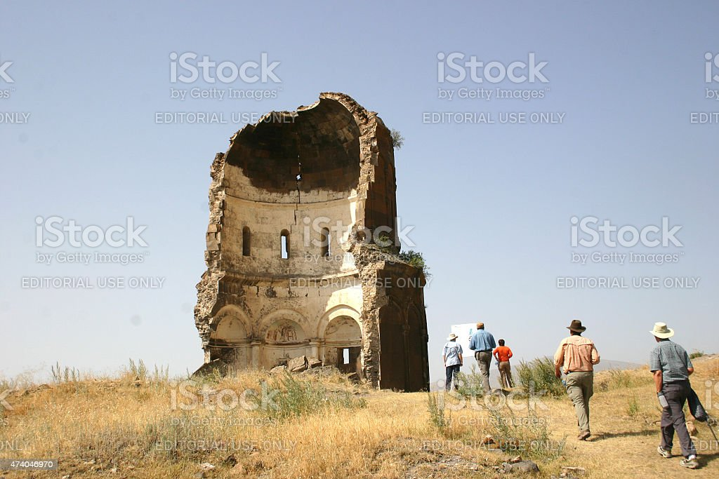 Church of the Holy Redeemer, Ani stock photo