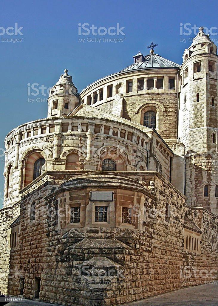Church of the Holy Sepulche, Jerusalem, Israel royalty-free stock photo