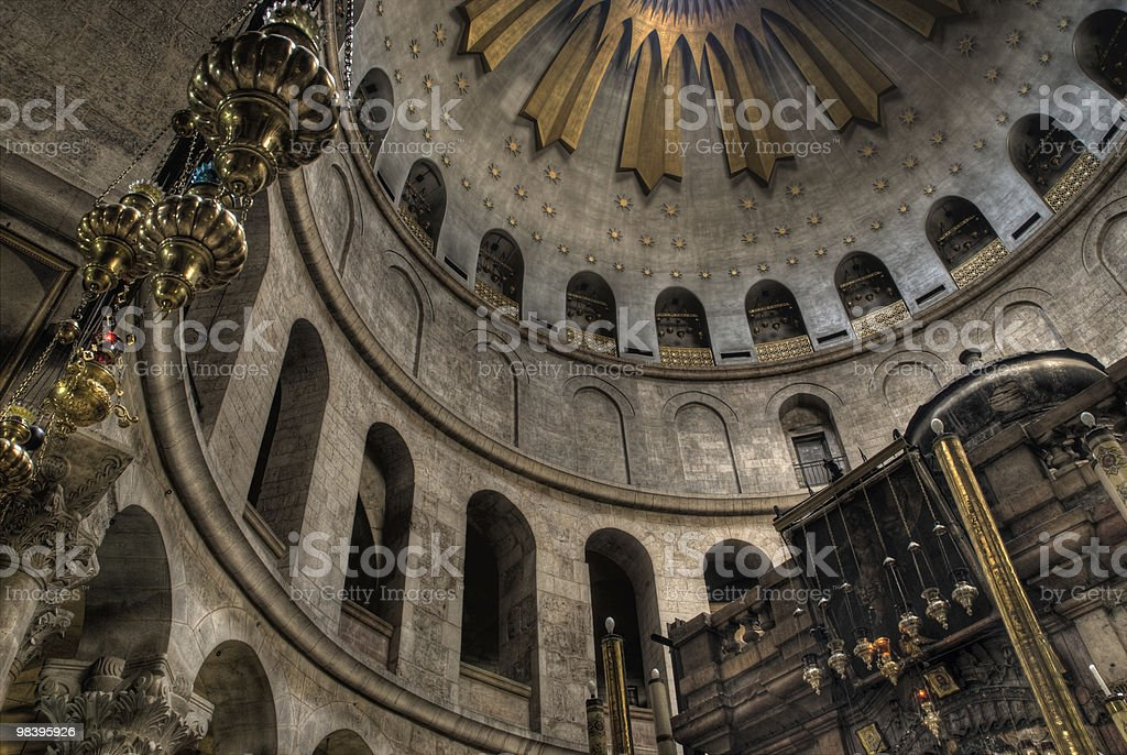 Church of the Holy Sepulcher royalty-free stock photo