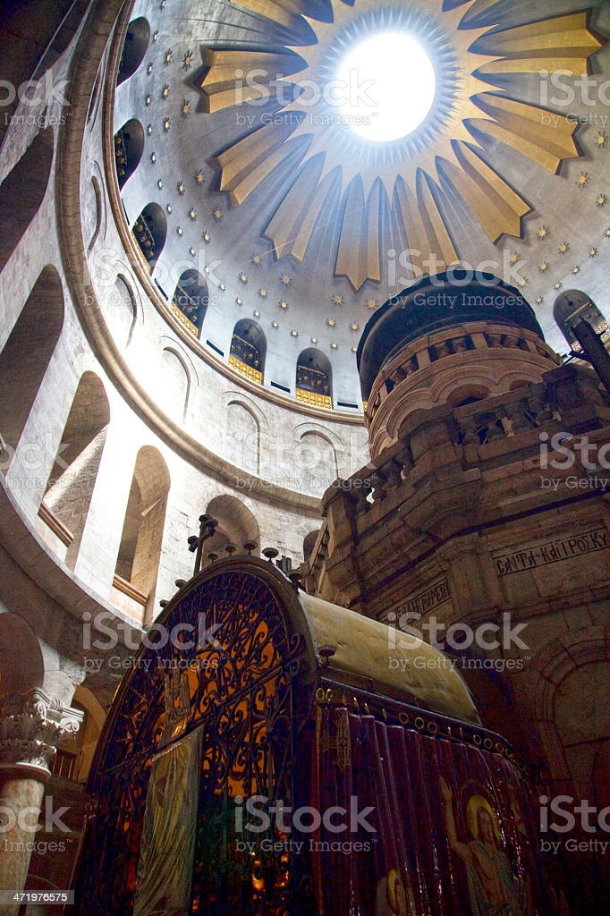 Church of the Holy Sepulchre, Jerusalem, Israel. stock photo