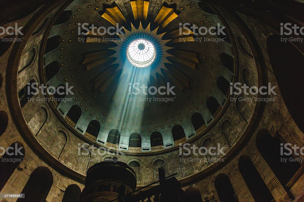 Church of the Holy Sepulchre royalty-free stock photo