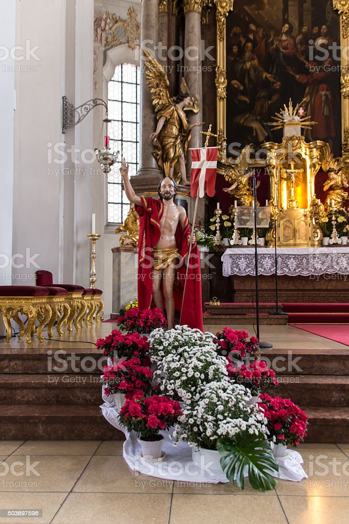 Heiliggeistkirche in Munich, Germany, 2015 stock photo