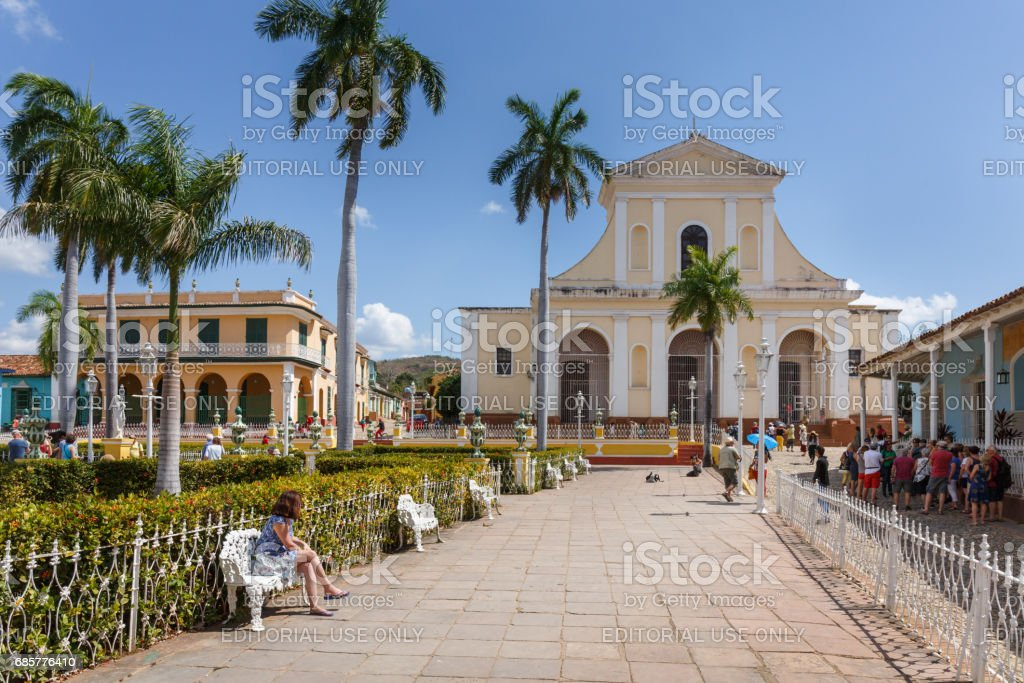 Church of the Holy Trinity  in Trinidad royalty-free stock photo