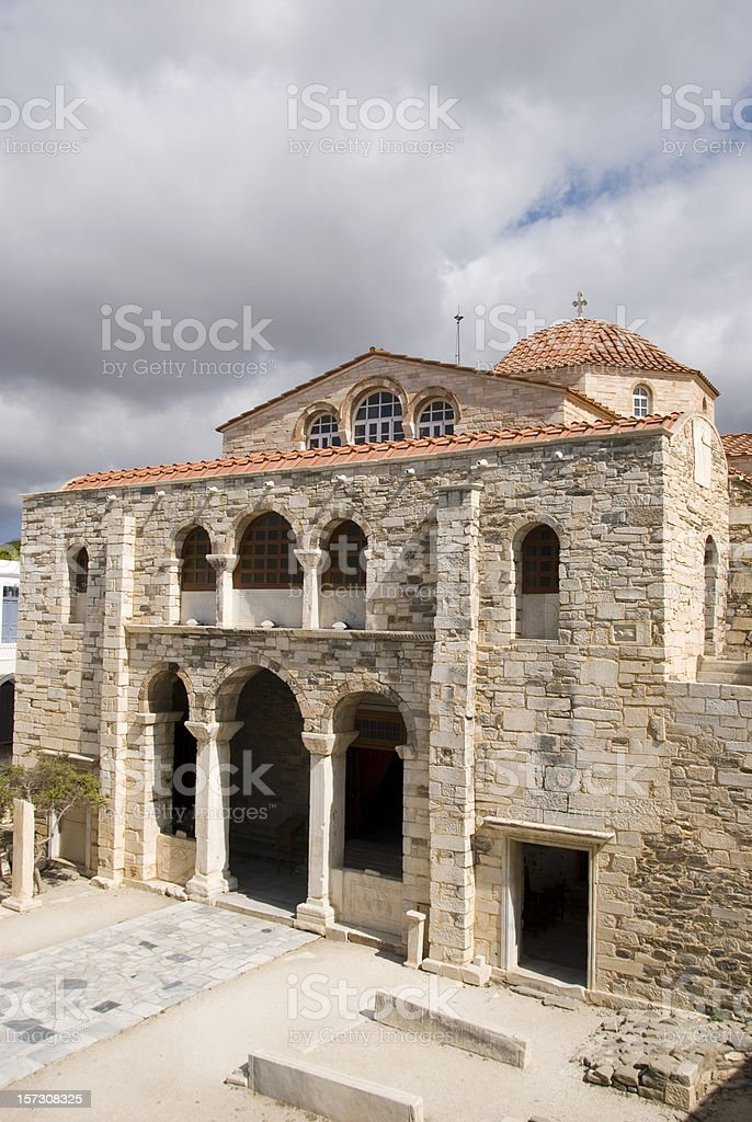 Church of the hundred gates royalty-free stock photo