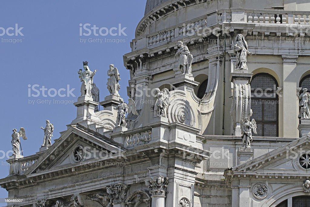 Church of the madonna della salute royalty-free stock photo