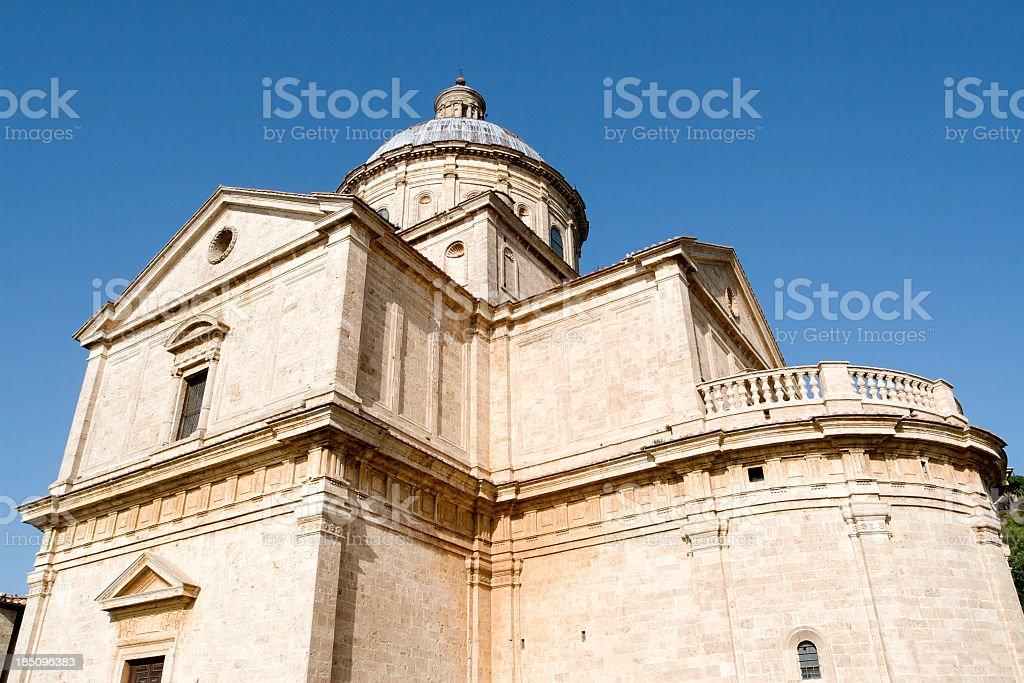Church of the Madonna di San Biagio stock photo