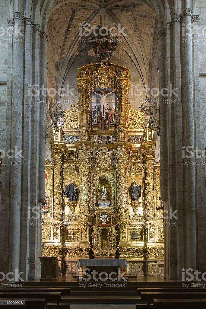 Church of the Monastery of Santa Maria la Real, stock photo