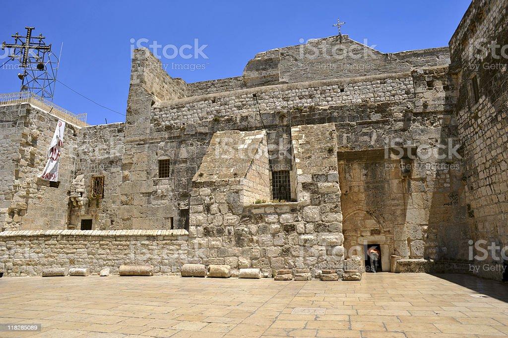 Church Of The Nativity, Bethlehem royalty-free stock photo