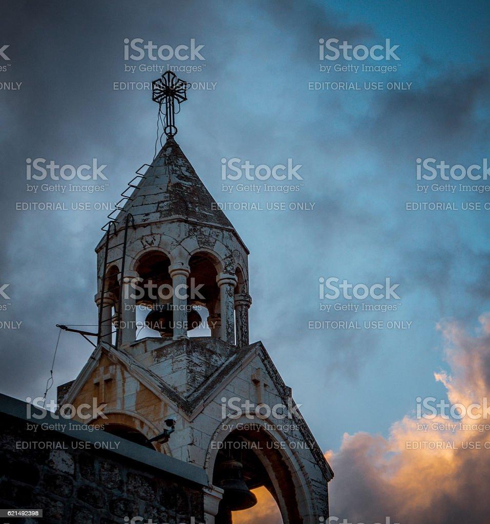 Church Of The Nativity. The Holy Land photo libre de droits
