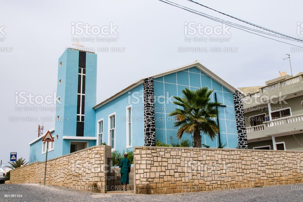 Church of the Nazarene stock photo