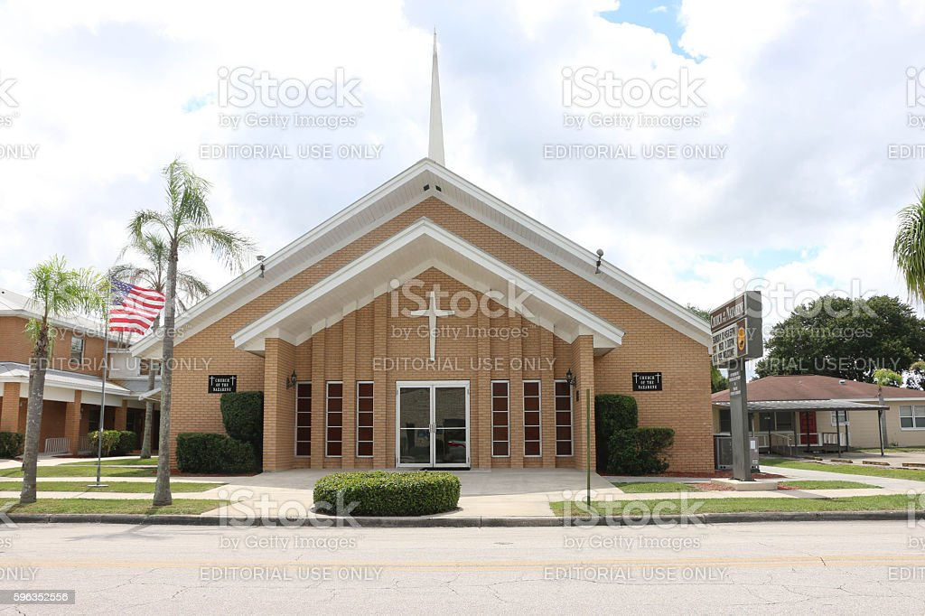 Church of the Nazarene - Sebring royalty-free stock photo