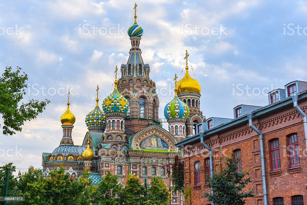 Church of the Savior on Blood royalty-free stock photo