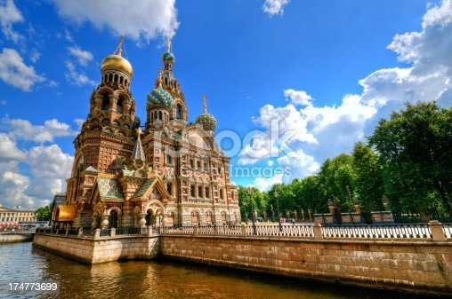 istock Church of the Savior on Spilled Blood 174773699