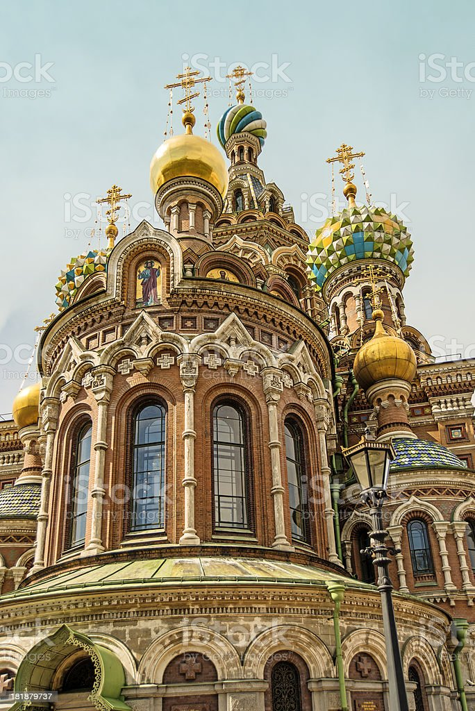 Church of the Savior on Spilled Blood royalty-free stock photo