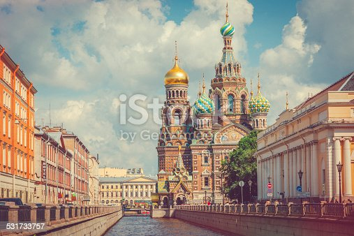 istock Church of the Savior on Spilled Blood 531733757