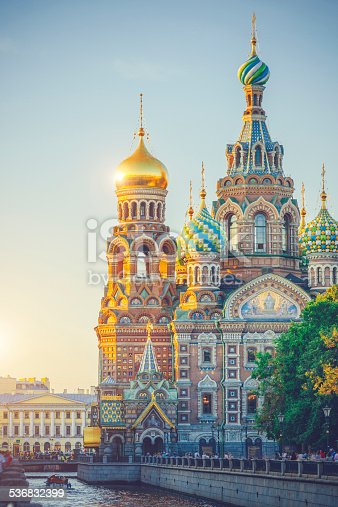 istock Church of the Savior on Spilled Blood 536832399