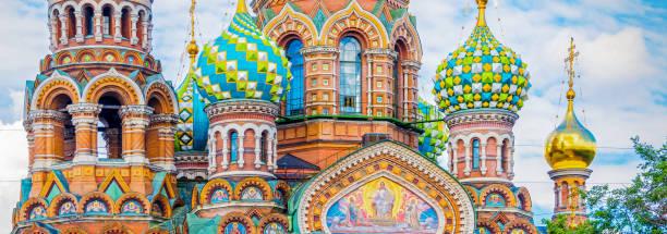 Kirche des Retters auf Verschütteten Blutes, St. Petersburg, Russland – Foto