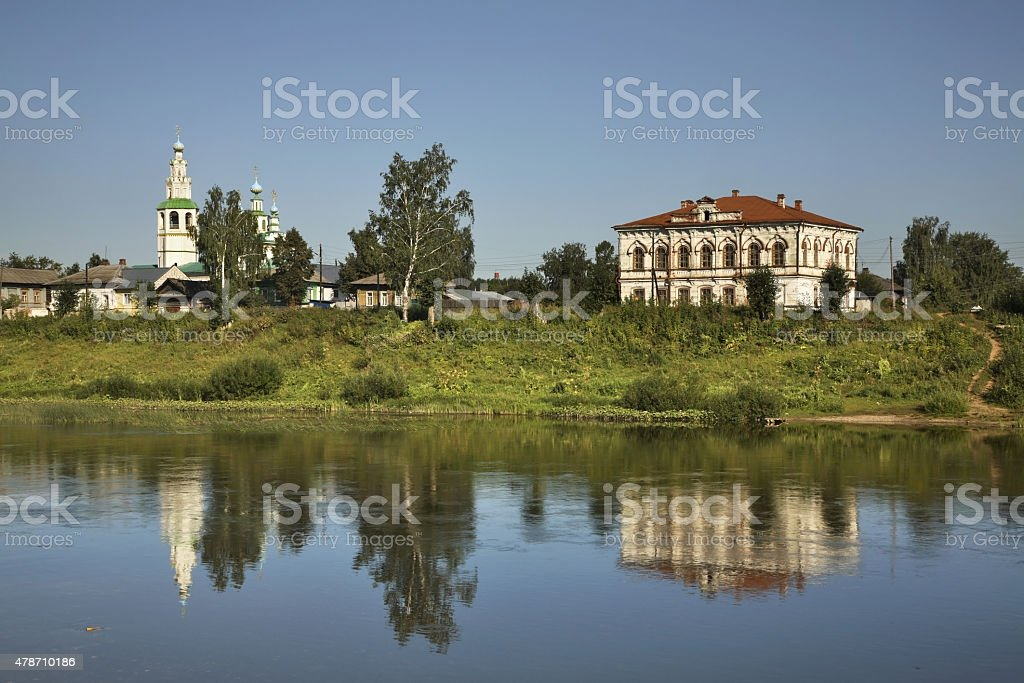 Church of the Transfiguration in Kungur. Perm Krai. Russia stock photo