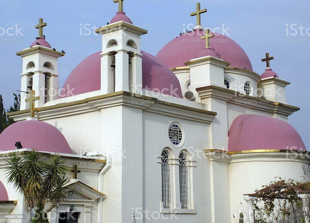 Church Of The Twelve Apostles royalty-free stock photo