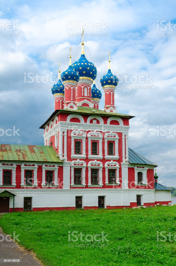Church Of Tsarevich Dmitry On Blood In Uglich Kremlin Golden Ring Of