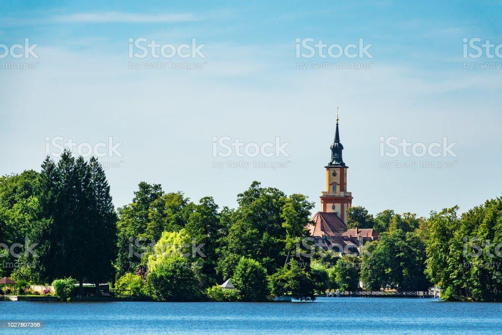 Kirche am See in Templin, Deutschland – Foto