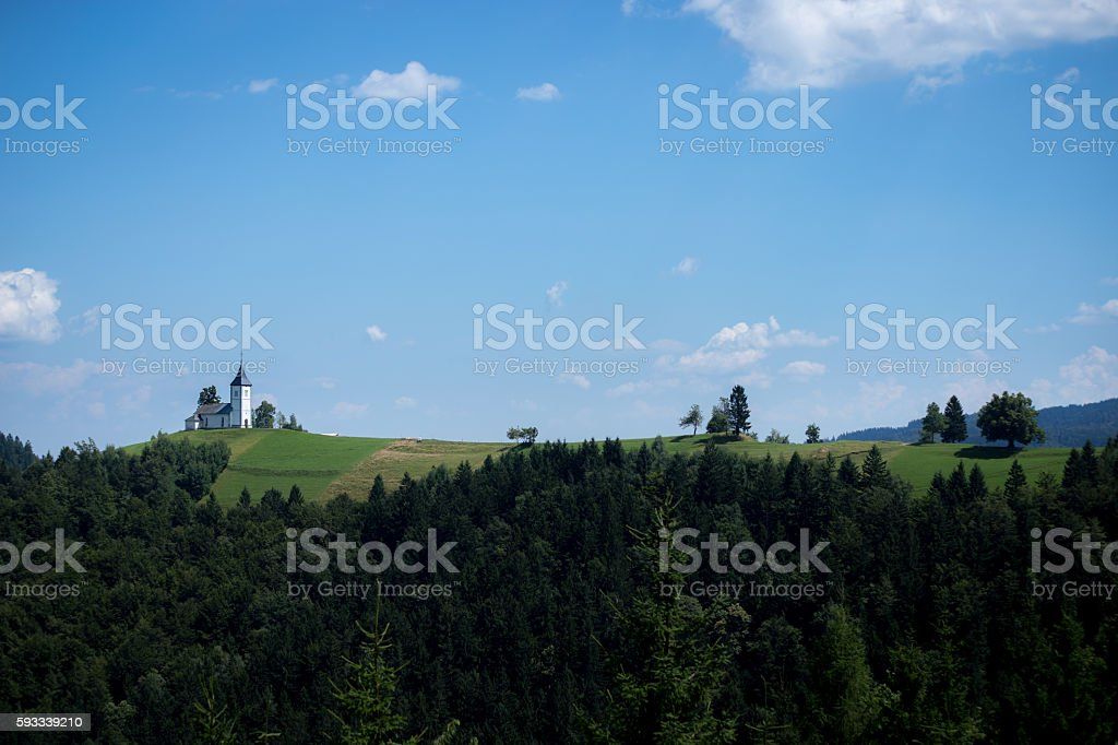 Church on the hill - Royalty-free Architecture Stock Photo
