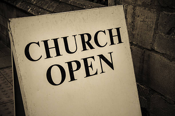 76 Church Open Sign Stock Photos, Pictures & Royalty-Free Images - iStock