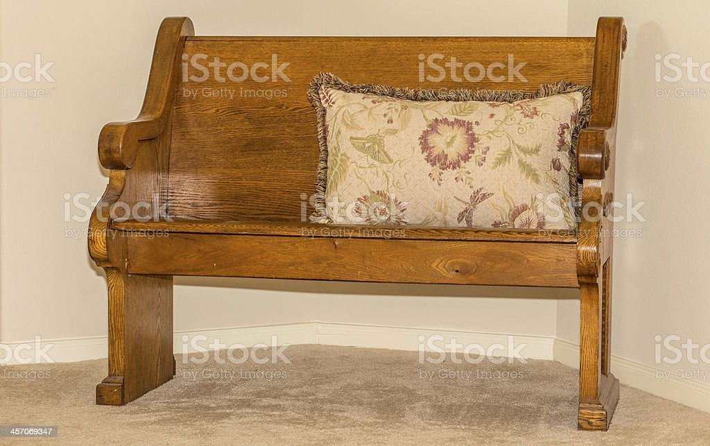 Church Pew royalty-free stock photo