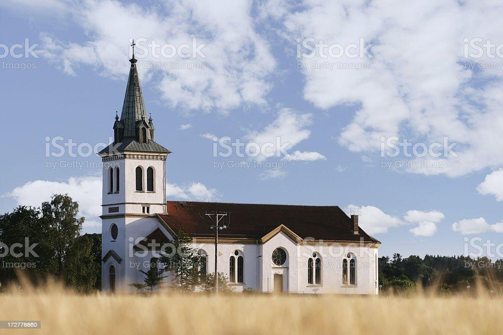 Church stock photo