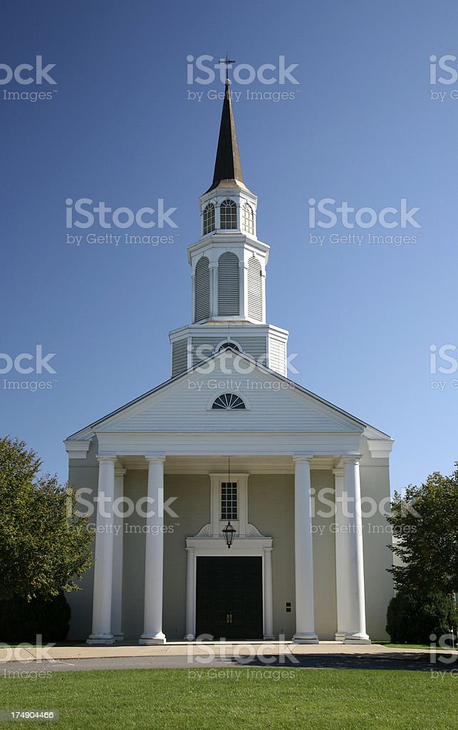 Church royalty free stockfoto