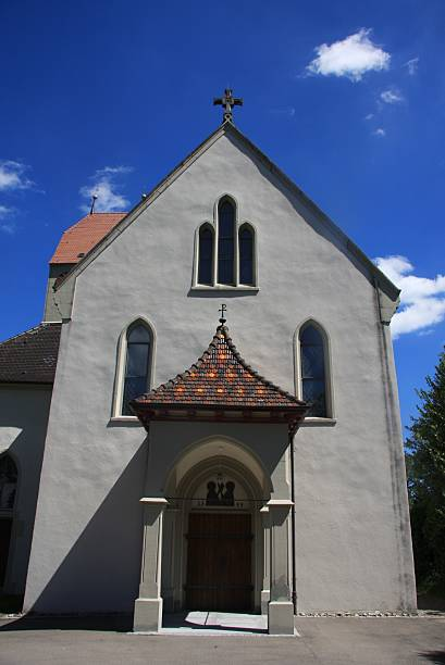 church a old church in Bodmann Amen stock pictures, royalty-free photos & images