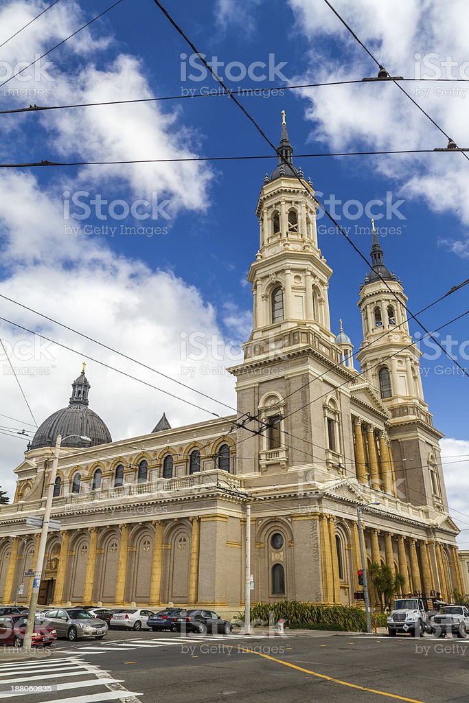 Church stock photo