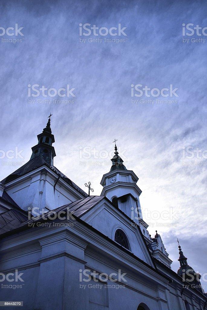 Église de photo libre de droits