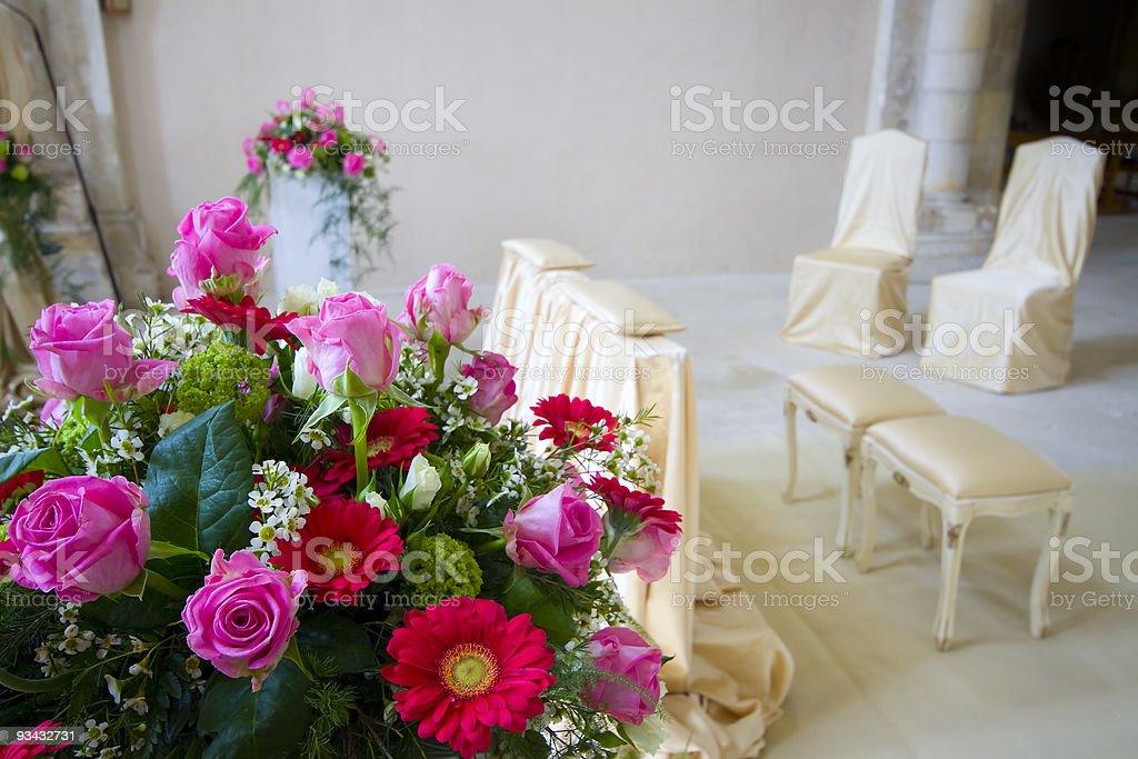 Kirche für Hochzeit Lizenzfreies stock-foto