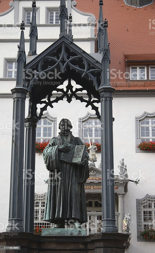 Church Reformer Martin Luther royalty-free stock photo