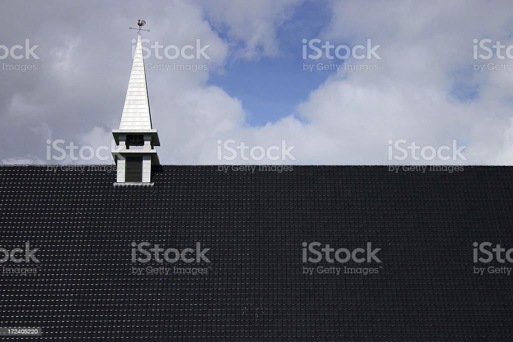 Church Roof royalty-free stock photo