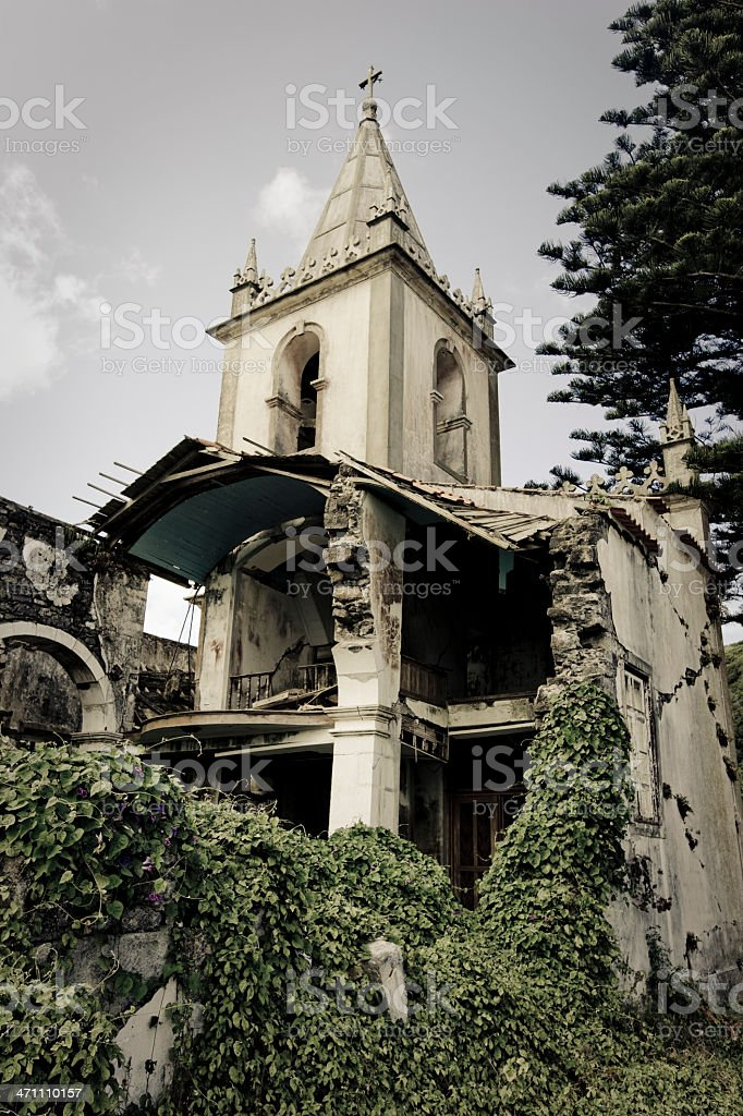 Church Ruin royalty-free stock photo