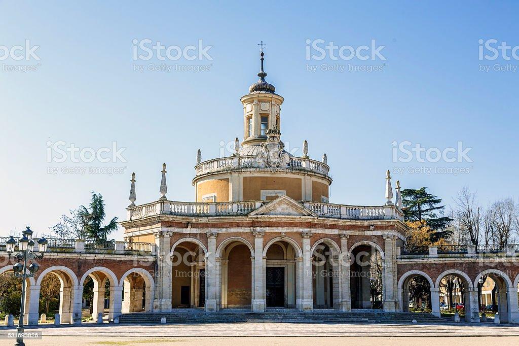 Iglesia de San Antonio de Aranjuez en España - foto de stock