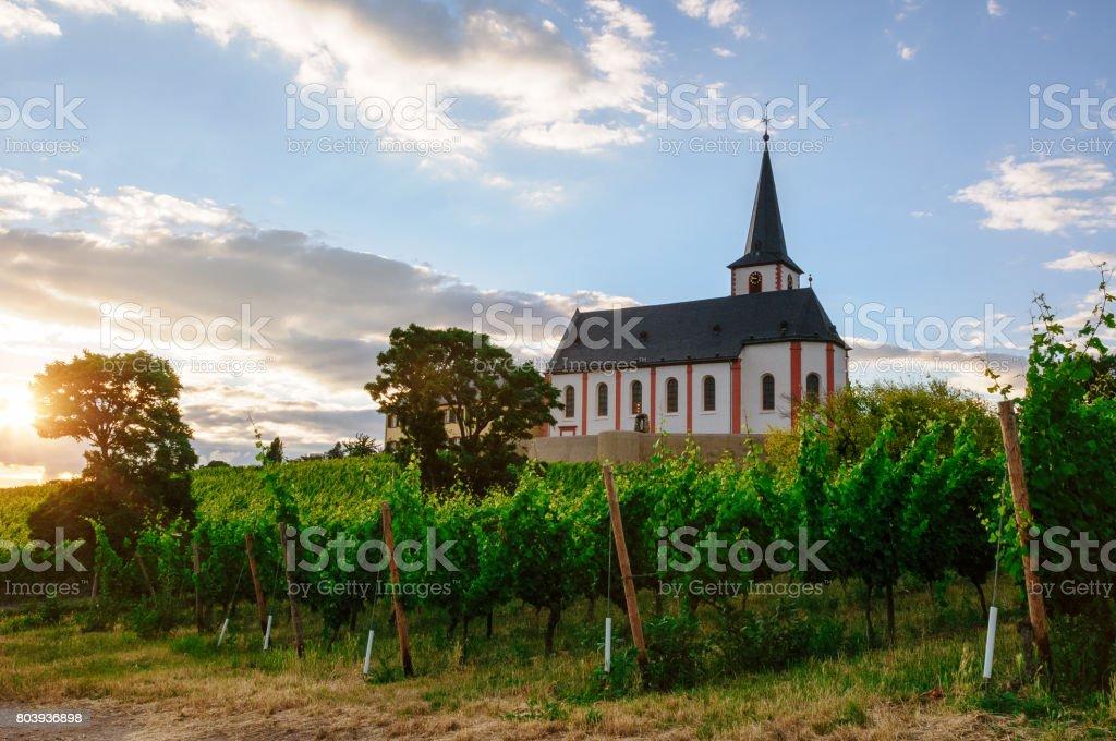 Church Sankt Peter und Paul in Hochheim stock photo