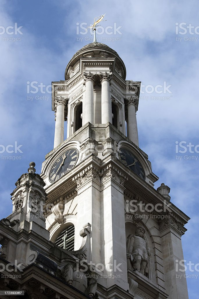 Church Spire in London royalty-free stock photo