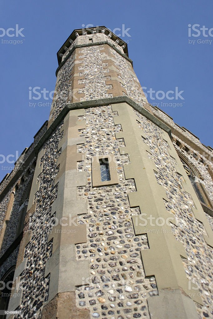 Church Spire #2 royalty-free stock photo