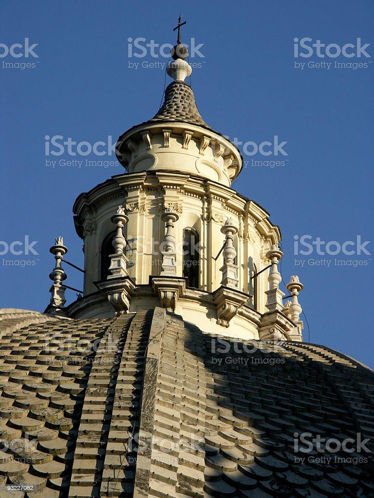 Church spire royalty-free stock photo