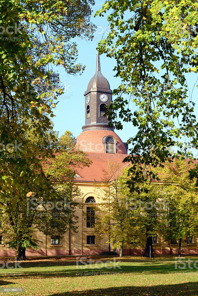 Church St. Marien in Neuruppin (Brandenurg - Germany) stock photo