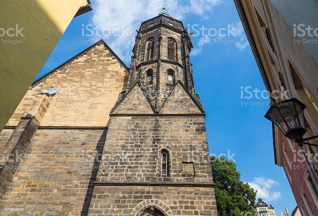 church St. Marien in Pirna (Saxony) royalty-free stock photo