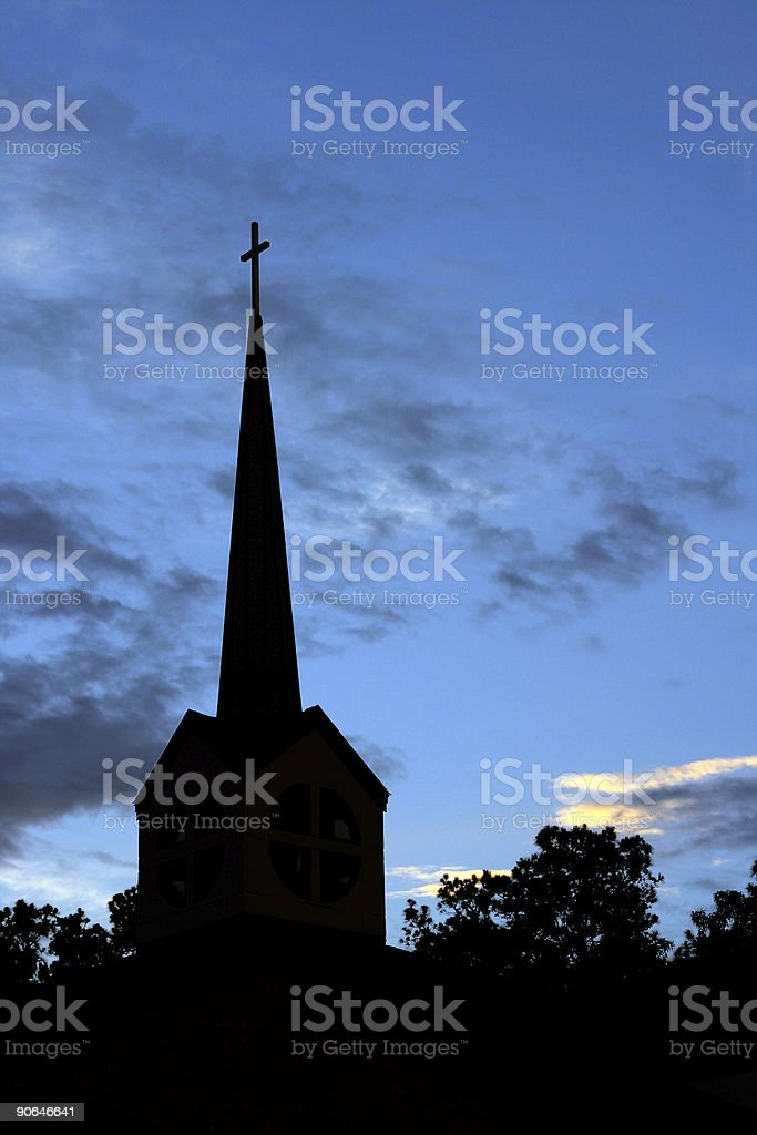 church steeple01 royalty-free stock photo