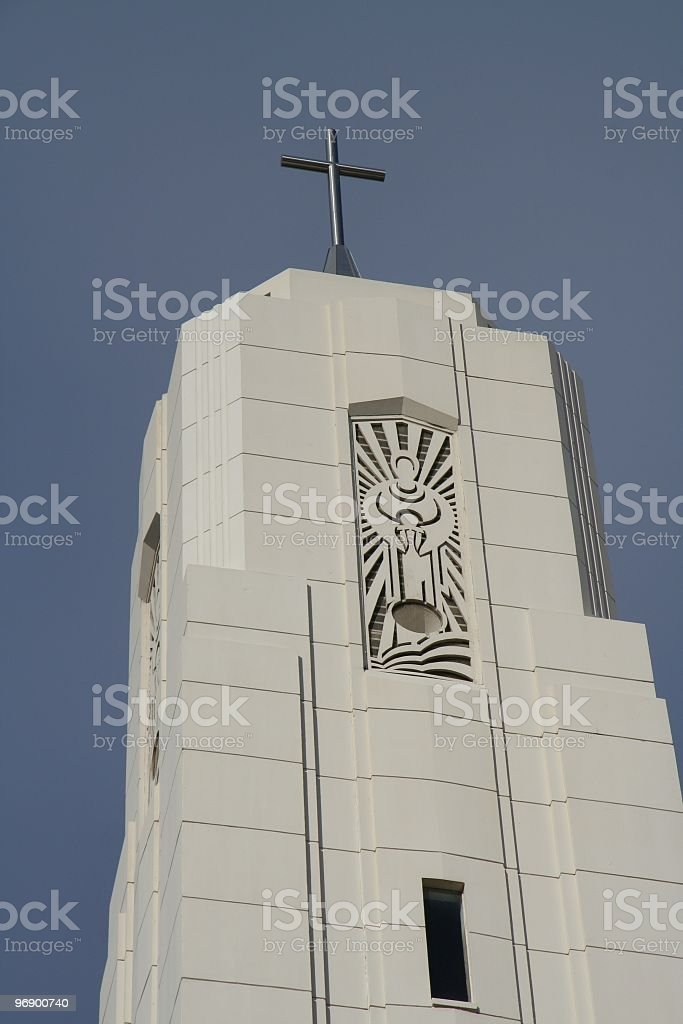 Church Steple Cathedral royalty-free stock photo